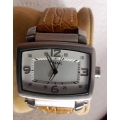 WW#31 MENS STAINLESS STEEL FOSSIL WATCH ~ BRAND NEW