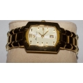 WW#33 MENS GOLD TONE LUCIEN PICCARD ELEMENT WATCH