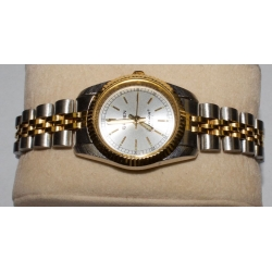WW#34 LADIES STAINLESS GRUEN PRECISION QUARTZ WATCH