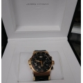 W#01 mens rose gold Jorg Hysek abyss explorer chronograph 18k rose gold $12,950.00