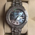 W#009 Men's custom diamond Rolex double quickset  (A serial number ) President Watch $21,500.00
