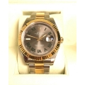 W#006 Men's two tone Datejust Wimbledon ref#116333 Rolex watch complete set - never worn $13,550.00