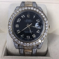 Rolex Datejust II Two tone custom diamonds  Excellent condition