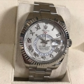 W#001 Rolex Sky Dweller White gold  Complete set  scrambled serial  Pre-owned Excellent condition  $36.950.00W#