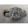 R#052 Ladies Platinum Wedding Ring (2.95cts total) $4550.00