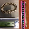 B# 14k Cuban link bracelet  $3,995.00