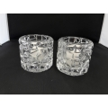 Tiffany & Co Sierra VOTIVE Candle Holders (Set Of 2) $70.00