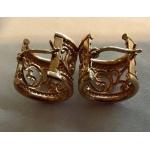 E#006 14k yellow gold hoop earrings 2.3 dwt $100.00
