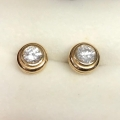 E#4 Diamond earrings in yellow gold Approximately 1.70ctw $3,695.00