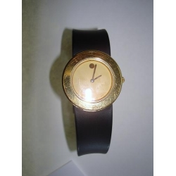 WW#21 Ladies Movado Watch Thick rubber band w/ deployment buckel $150.00