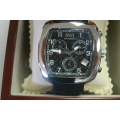 WW#12 MENS STAINLESS STEEL SWI MONTREUX WATCH $130.00