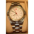WW#14 MENS STAINLESS STEEL WEGNER SAK DESIGN WATCH $150.00