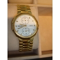 WW#19 MENS STAINLESS STEEL GRUEN WATCH $150.00
