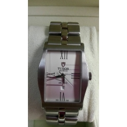 WW#25  MENS STAINLESS STEEL TUDOR (NEW NEVER WORN) ARCHEO $1295.00