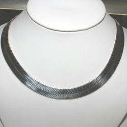 SN#011 LADIES STERLING SILVER NECKLACE