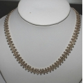 SN#002 LADIES STERLING SILVER FASHION NECKLACE