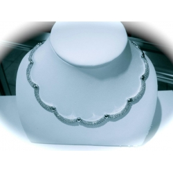 N#009 14k white gold Necklace (3.27cts.) $2995.00