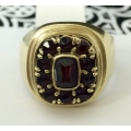R#204 14k yellow gold Fashion Ring with Rubies (2.00cts)