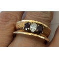R#180 Mens 14k yellow gold Fashion Ring