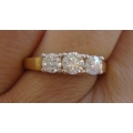 R#182 14k past/present/future Ring (1.00ct.)
