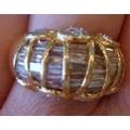 R#011 LADIES 14K Y/GOLD FASHION DIAMOND RING  $2400.00