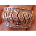 R#083 MEN'S 14K Y/GOLD DIAMOND FASHION RING (1ct) $700.00