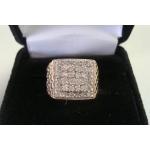 R#090  MEN'S 10K Y/GOLD DIAMOND FASHION RING (1.00ct) $600.00