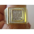 R#065 MEN'S 14K (1ct) DIAMOND FASHION RING  $