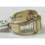 R# LADIES 14K Y GOLD FASHION RING (NO CENTER STONE)