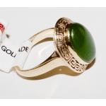 R#14K Y GOLD EMERALD FASHION RING