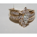 R#006 14K Y GOLD ENGAGEMENT RING (1.50cts)