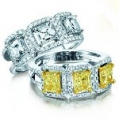 Ladies Fashion Gold & Diamond RIngs