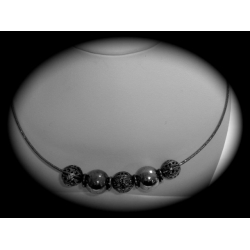 SN# LADIES STERLING SILVER FASHION NECKLACE