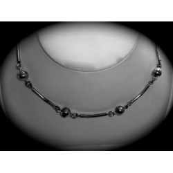 SN#016 LADIES STERLING SILVER FASHION NECKLACE