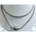SN#018 LADIES STERLING SILVER NECKLACE