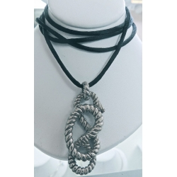 SN# LADIES STERLING SILVER NECKLACE