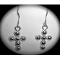 SE#004 LADIES SILVER FASHION EARRINGS