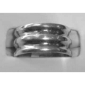 SR#01 LADIES SILVER FASHION RING 4.7 G $18.80