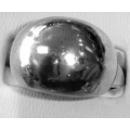 SR#02 LADIES SILVER FASHION RING 5.7G $22.80
