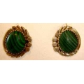 SE#001 LADIES FASHION SILVER & TURQUOISE  EARRINGS