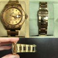 W#12 Rolex Yacht Master 18k Yellow Gold Like new Condition  Gold & diamond dial $13,950.00