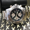 W#4 men's stainless steel super ocean chronograph Breitling Watch