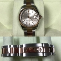 W#28 midsize two tone rose Gold and stainless steel Datejust Rolex Watch new model w/ card -box-books traded Special $7950.00