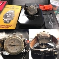 W#21 men's stainless steel Breitling emergency book/box/papers kit included asking $3450.00