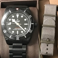 W#45 Tudor  Reference # 79230DK Factory pvd  Box/card/books/extra strap $2,950.00