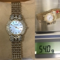 W#40 Krieger ladies watch 18k yellow gold $2,850.00