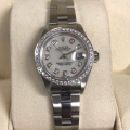 W#18 Rolex ladies Datejust  Mop diamond dial and diamond bezel $3,995.00