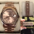 W#14 Rolex Day Date II Rose gold  Scrambled serial Excellent condition  $27,950.00