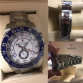 W#41 Men's stainless steel yacht master II box/card - like new condition- $15,950.00