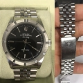 W#06 men's stainless steel air king Rolex watch no holes in case like new condition $2995.00